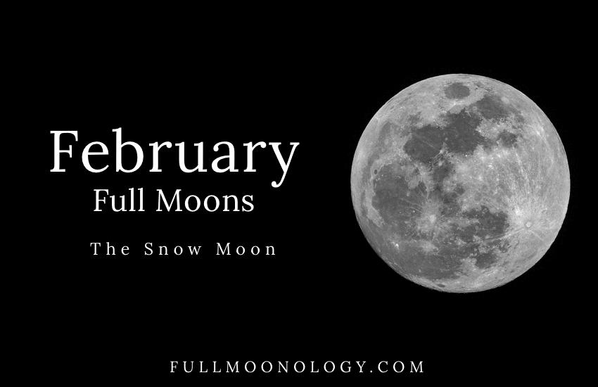 February Full Moon, The Snow Moon