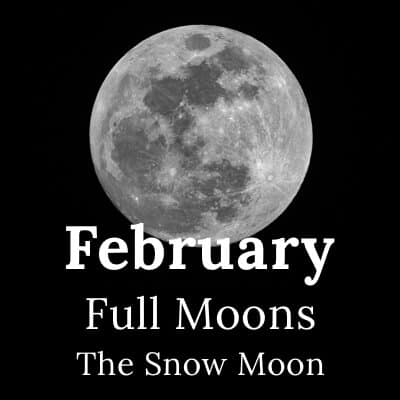Full Moon February 2019 and beyond
