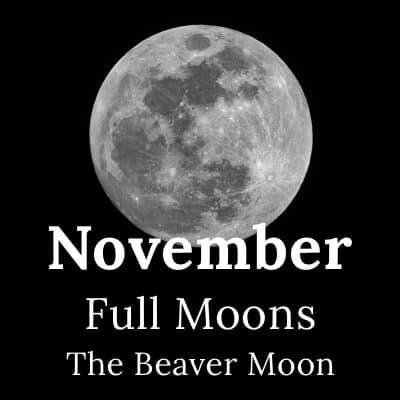 Full Moon November 2019 and beyond
