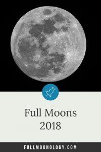 Full Moons 2018