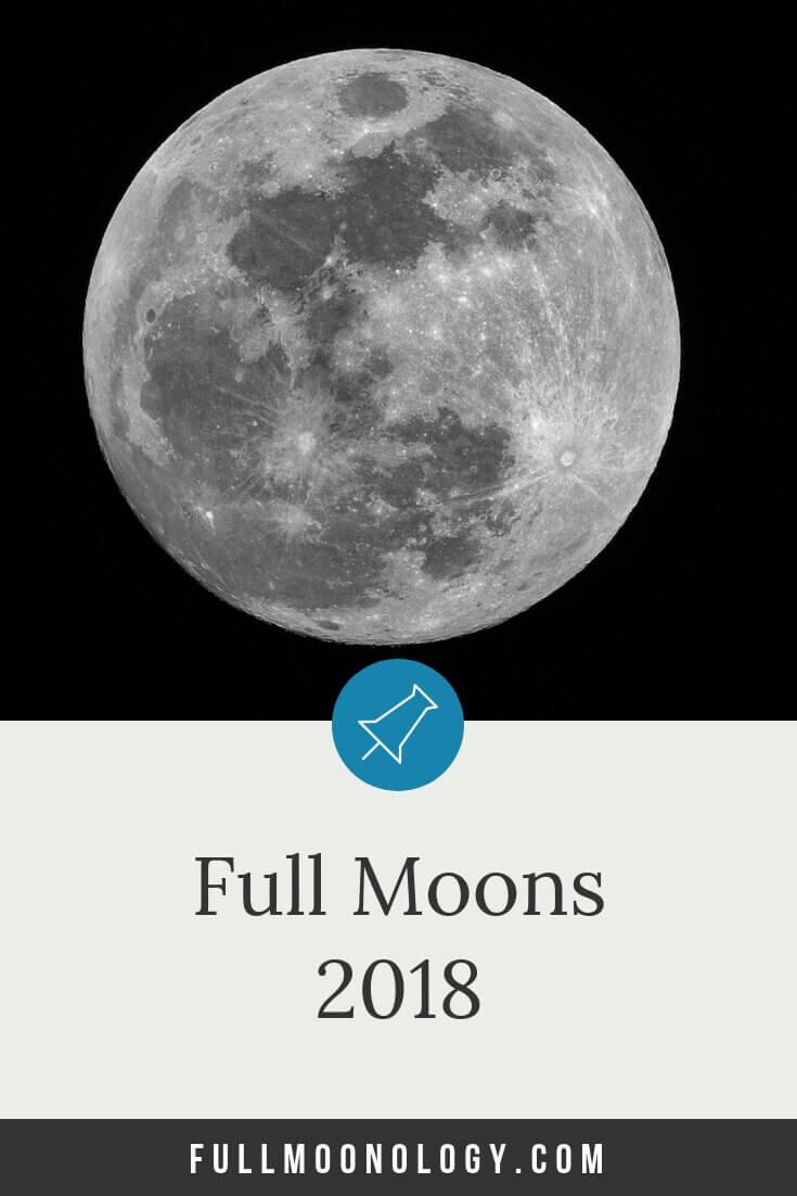 Calendar of Full Moons 2018