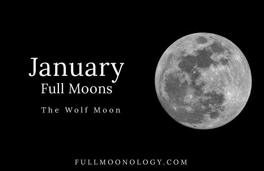 January Full Moon, The Wolf Moon