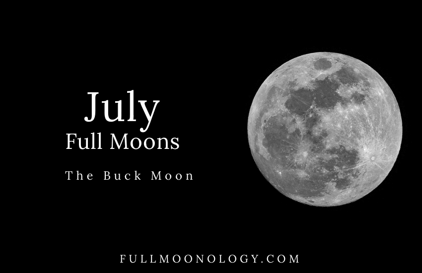 July Full Moon, The Buck Moon