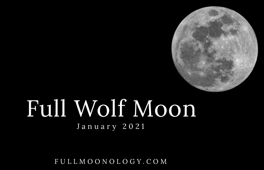 Full Wolf Moon: the January 2021 Full Moon