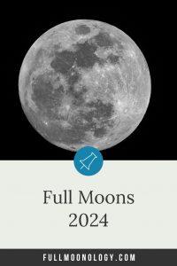 Full Moons 2024