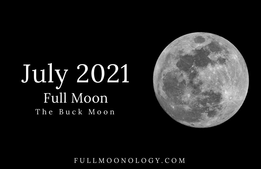 July 2021 Full Moon, The Buck Moon